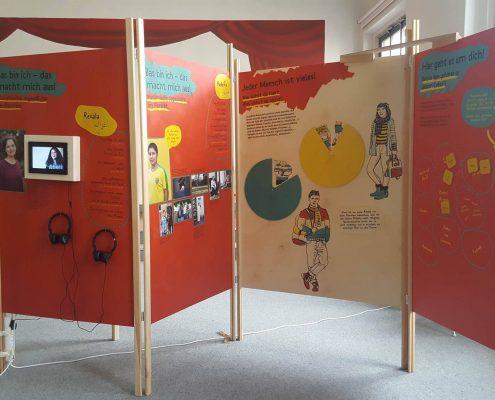 Wanderausstellung-Muslimisch-in Ostdeutschland-Einblick-in-die-Ausstellung